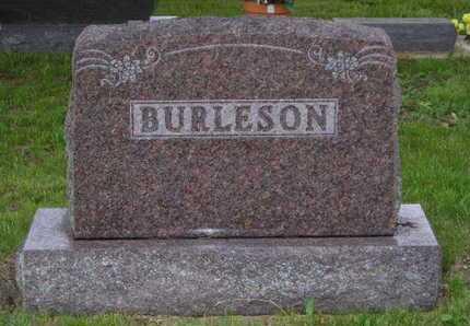 BURLESON, LOT MARKER - Branch County, Michigan | LOT MARKER BURLESON - Michigan Gravestone Photos