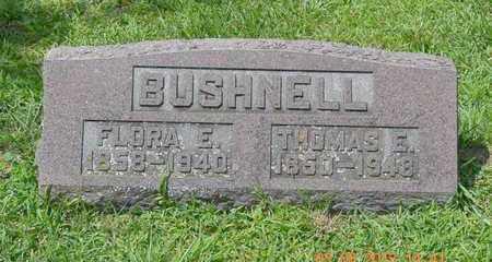 BUSHNELL, FLORA E. - Branch County, Michigan | FLORA E. BUSHNELL - Michigan Gravestone Photos