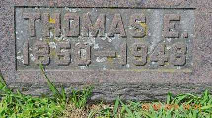 BUSHNELL, THOMAS E. - Branch County, Michigan | THOMAS E. BUSHNELL - Michigan Gravestone Photos