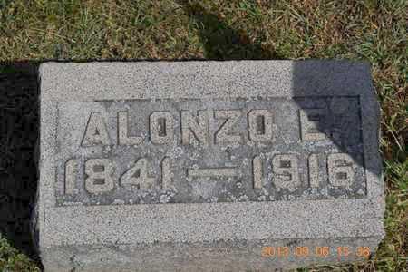 BUTLER, ALONZO E. - Branch County, Michigan | ALONZO E. BUTLER - Michigan Gravestone Photos