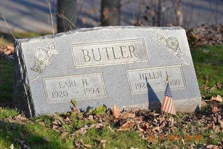 BUTLER, EARL H. - Branch County, Michigan | EARL H. BUTLER - Michigan Gravestone Photos