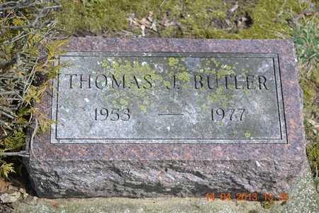 BUTLER, THOMAS J. - Branch County, Michigan   THOMAS J. BUTLER - Michigan Gravestone Photos