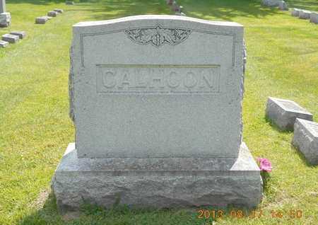 CALHOON, FAMILY - Branch County, Michigan   FAMILY CALHOON - Michigan Gravestone Photos