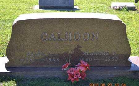 CALHOON, BLANCHE E. - Branch County, Michigan | BLANCHE E. CALHOON - Michigan Gravestone Photos