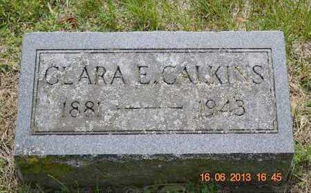 CALKINS, CLARA E. - Branch County, Michigan | CLARA E. CALKINS - Michigan Gravestone Photos
