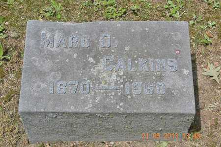 CALKINS, MARC D. - Branch County, Michigan | MARC D. CALKINS - Michigan Gravestone Photos