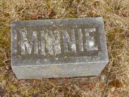 CALKINS, MINNIE M. - Branch County, Michigan | MINNIE M. CALKINS - Michigan Gravestone Photos