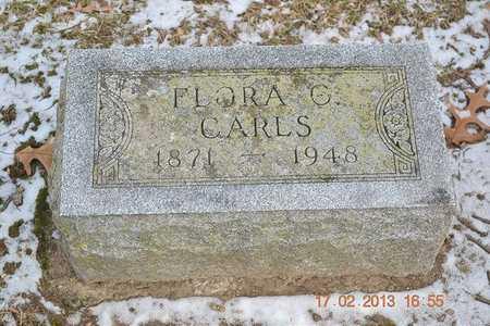 CARLS, FLORA C. - Branch County, Michigan | FLORA C. CARLS - Michigan Gravestone Photos
