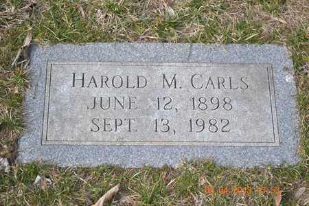 CARLS, HAROLD M. - Branch County, Michigan | HAROLD M. CARLS - Michigan Gravestone Photos