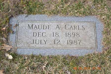 CARLS, MAUDE A. - Branch County, Michigan | MAUDE A. CARLS - Michigan Gravestone Photos