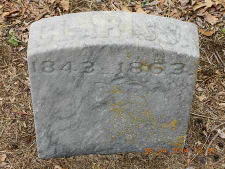 CHASE, CLARISSA - Branch County, Michigan | CLARISSA CHASE - Michigan Gravestone Photos