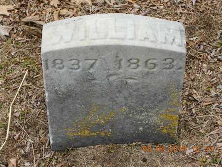 CHASE, WILLIAM - Branch County, Michigan   WILLIAM CHASE - Michigan Gravestone Photos