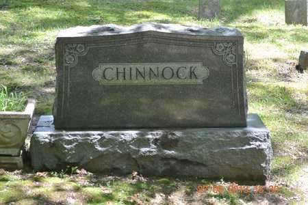 CHINNOCK, FAMILY - Branch County, Michigan | FAMILY CHINNOCK - Michigan Gravestone Photos