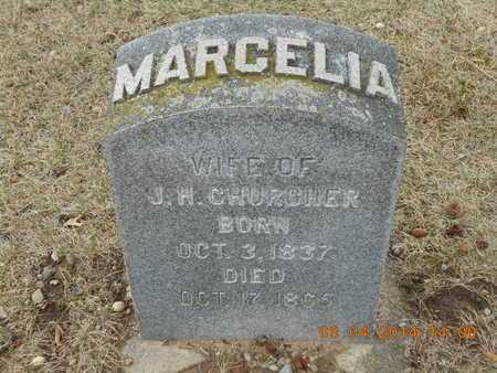 CHURCHER, MARCELIA - Branch County, Michigan | MARCELIA CHURCHER - Michigan Gravestone Photos
