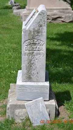 CLATER, JOSEPH - Branch County, Michigan | JOSEPH CLATER - Michigan Gravestone Photos