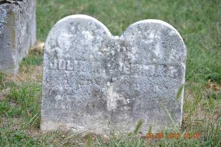 CLAY, JOLIA M. - Branch County, Michigan | JOLIA M. CLAY - Michigan Gravestone Photos