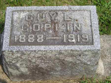 COPLIN, GUY E. - Branch County, Michigan | GUY E. COPLIN - Michigan Gravestone Photos