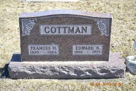 COTTMAN, EDWARD N. - Branch County, Michigan | EDWARD N. COTTMAN - Michigan Gravestone Photos
