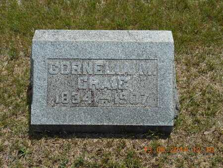 CRAIG, CORNELIA M. - Branch County, Michigan | CORNELIA M. CRAIG - Michigan Gravestone Photos