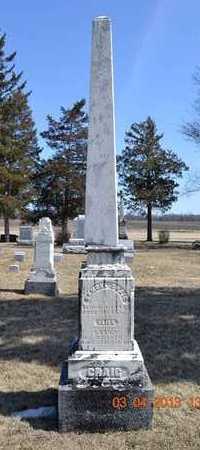 CRAIG, ELIZA - Branch County, Michigan | ELIZA CRAIG - Michigan Gravestone Photos