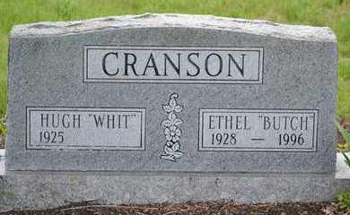 "CRANSON, ETHEL ""BUTCH"" - Branch County, Michigan | ETHEL ""BUTCH"" CRANSON - Michigan Gravestone Photos"