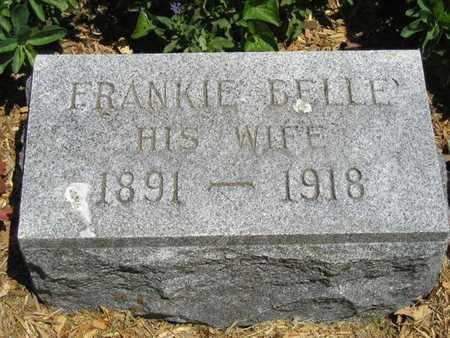CRANSON, FRANKIE BELLE - Branch County, Michigan | FRANKIE BELLE CRANSON - Michigan Gravestone Photos