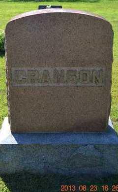 CRANSON, LOT MARKER - Branch County, Michigan | LOT MARKER CRANSON - Michigan Gravestone Photos