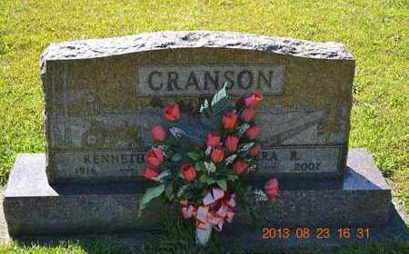 CRANSON, VERA R. - Branch County, Michigan | VERA R. CRANSON - Michigan Gravestone Photos