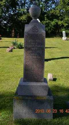 CRANSON, PARAMENIC - Branch County, Michigan   PARAMENIC CRANSON - Michigan Gravestone Photos