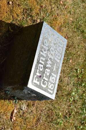 CRAWFORD, FRANKIE - Branch County, Michigan | FRANKIE CRAWFORD - Michigan Gravestone Photos