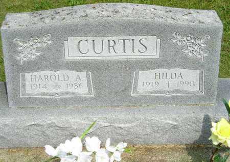 CURTIS, HAROLD A. - Branch County, Michigan | HAROLD A. CURTIS - Michigan Gravestone Photos