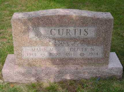 CURTIS, MARIE M. - Branch County, Michigan | MARIE M. CURTIS - Michigan Gravestone Photos