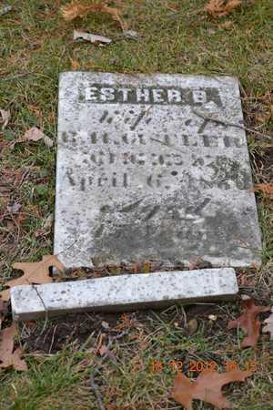 CUTLER, ESTHER B. - Branch County, Michigan   ESTHER B. CUTLER - Michigan Gravestone Photos