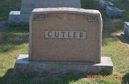 CUTLER, FAMILY - Branch County, Michigan | FAMILY CUTLER - Michigan Gravestone Photos