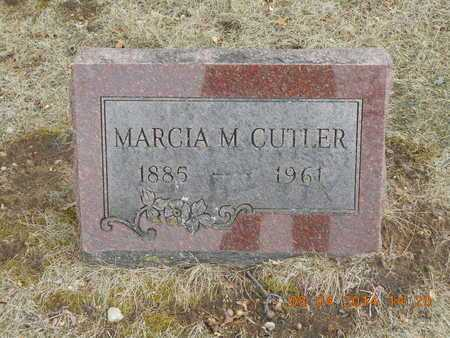 CUTLER, MARCIA M. - Branch County, Michigan | MARCIA M. CUTLER - Michigan Gravestone Photos