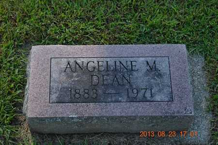 DEAN, ANGELINE M. - Branch County, Michigan | ANGELINE M. DEAN - Michigan Gravestone Photos