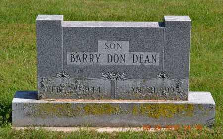 DEAN, BARRY DON - Branch County, Michigan   BARRY DON DEAN - Michigan Gravestone Photos