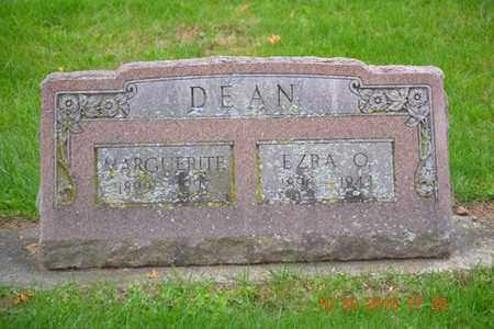 DEAN, EZRA O. - Branch County, Michigan | EZRA O. DEAN - Michigan Gravestone Photos
