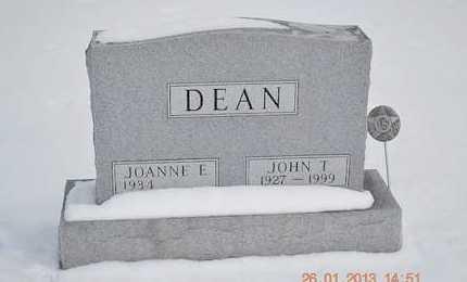DEAN, JOANNE - Branch County, Michigan   JOANNE DEAN - Michigan Gravestone Photos