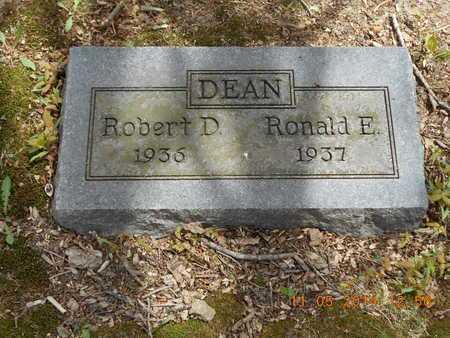 DEAN, ROBERT D. - Branch County, Michigan | ROBERT D. DEAN - Michigan Gravestone Photos