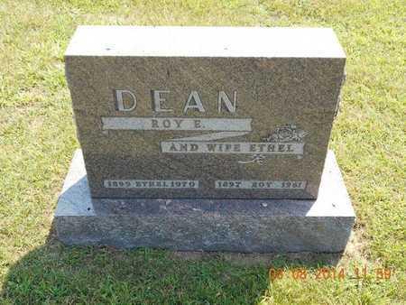 DEAN, ROY E. - Branch County, Michigan | ROY E. DEAN - Michigan Gravestone Photos