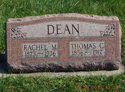 DEAN, RACHEL M. - Branch County, Michigan | RACHEL M. DEAN - Michigan Gravestone Photos