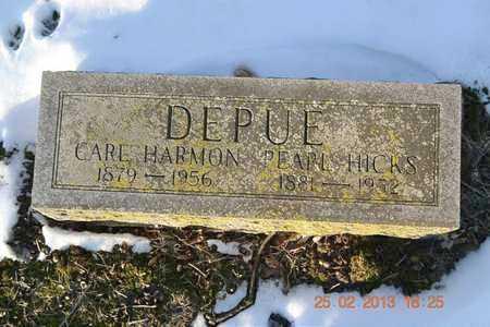 DEPUE, PEARL - Branch County, Michigan | PEARL DEPUE - Michigan Gravestone Photos