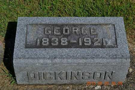 DICKINSON, GEORGE - Branch County, Michigan   GEORGE DICKINSON - Michigan Gravestone Photos