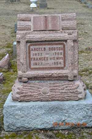 DOBSON, ANGELO - Branch County, Michigan | ANGELO DOBSON - Michigan Gravestone Photos