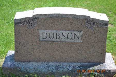DOBSON, VINA B. - Branch County, Michigan | VINA B. DOBSON - Michigan Gravestone Photos
