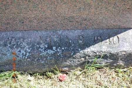 DOBSON, VINA B.(CLOSEUP) - Branch County, Michigan | VINA B.(CLOSEUP) DOBSON - Michigan Gravestone Photos