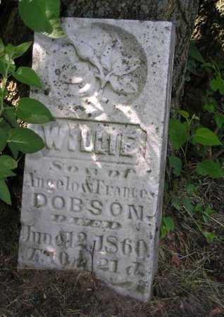 DOBSON, WILLIE - Branch County, Michigan | WILLIE DOBSON - Michigan Gravestone Photos