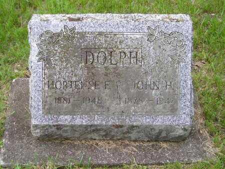 DOLPH, HORTENSE E. - Branch County, Michigan | HORTENSE E. DOLPH - Michigan Gravestone Photos