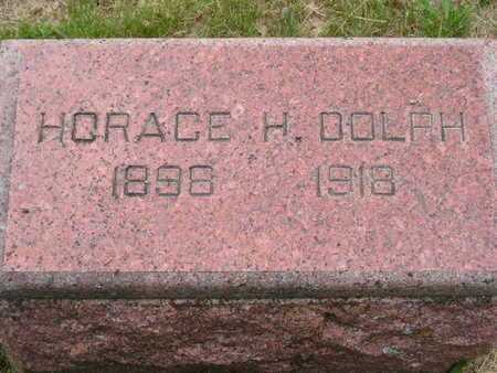DOLPH, HORACE H. - Branch County, Michigan | HORACE H. DOLPH - Michigan Gravestone Photos